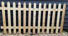 Merit Garden Products Picket Fence  Panels  Free Local Delivery Over £100