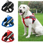 No-Pull Pet Dog Harness Service  Emotional dog Reflective Outdoor Vest & Patches
