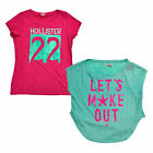 Hollister Womens T-Shirt Short Sleeve Graphic Tee Crew Neck Casual Top New Logo