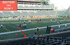 Kyпить  Deposit on 4 Front row Cincinnati Bengals tickets Cowboys Section 144 row 1 на еВаy.соm