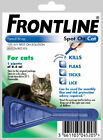 Frontline Spot on Flea & Tick Treatment for Cats – 1,2,3,6 Pipettes - AVM-GSL