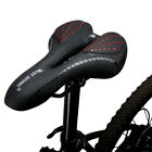 WEST BIKING Comfort Bicycle Seat Soft Padded Mountain Road Bike Gel Saddle UK