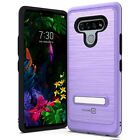 CoverON SleekStand Series For LG Stylo 6 Kickstand Hybrid Protective Phone Case