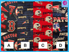"""New England Patriots  or Red Sox Fabric Fat Eighth - 9X22"""" - SHIPS SAME DAY!!!! $9.99 USD on eBay"""