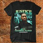 Justice for George Floyd T-shirt Black Lives Matter - I Cant Breathe Black Tee image