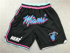 pocket Miami Heat mens balck short pants on eBay