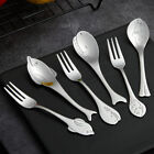 Stainless Steel Spoon Fork Accessories Reusable Cutlery Kitchen Replace