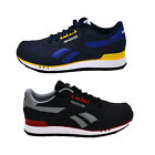 Reebok Shoes Mens Royal Sprint Athletic Black Navy Sneakers Running Medium New