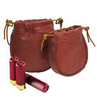 Leather Tactical Molle Utility Magazine Dump Drop Pouch Gun Ammo Pouch Belt Bag