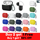 AirPods Pro Silicone Case + Keychain Protective Cover Skin Wireless Charging New