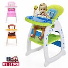 Kyпить Baby High Chair Table 3 in 1 Convertible Play Seat Booster Toddler w/Tray 3Color на еВаy.соm