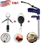 Fishermen Fish Hook Remover Tackle/fishing Line Quick Knot Tieing Tying Tool Us