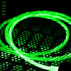 3 Pack LED Light UP Flowing Type C Data Charging Cable For Android USB C Phone