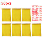 Bubble Mailer Various Size Gold Padded Bag Envelope Packing Postal Wrap 50-pack
