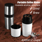 Portable Hand Mill Manual Coffee Grinder Cup Maker Espresso Handhold