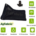 AgFabric UV Sun Shade Cloth Outdoor Patio plant Cover with Grommets Various Size