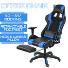 Ergonomic Gaming Chairs Racing Recliner Office Computer Desk Chairs Swivel Seats