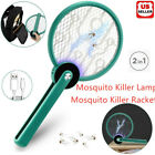 Kyпить 2 In 1 Portable Rechargeable USB Electric Mosquito Swatter Fly Insect Handheld на еВаy.соm