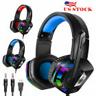 For PS4 Laptop Xbox one Gaming Headset Stereo Surround Headphone Wired WITH Mic