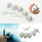 KQ_ 5Pcs Bait Cage Fishing Trap Basket Feeder Holder Fishing Tool Tackle Accesso