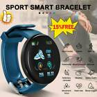 1 Smart Watch Fitness Sport Activity Tracker Heart Rate Monitor For Android/iOS