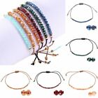 Fashion Crystal Bangle Chain Adjustable Bracelet Handmade Braided Women Jewelry