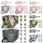 ❤FASHION❤50PCS❤3PLY❤Layer Disposable Face Mask Dust Filter Safety Protection