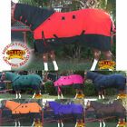 "U-66""-84"" Hilason 1200D Poly Turnout Horse Sheet With Neck Cover U-H-MX"