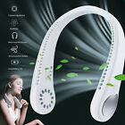 USB Portable Hanging Neck Fan Cooling Air Cooler Little Electric Air Conditioner