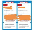 2 x Alton Towers E-Tickets  Monday 21st September 2020