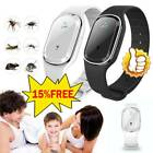 Ultrasonic-anti Mosquito Insect Pest Bug Repellent Repeller Bracelet Wrist Watch