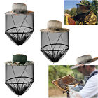 Anti-Mosquito Bug Fly Insect Head Net Fishing Cap Hat Protector Fisherman Hiking