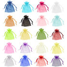 Organza Bags Wedding Favour Party Jewellery Pouches Mesh Drawstring Gift Cake Uk