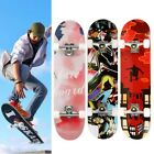 """31"""" X 8"""" Complete Skateboard, 9 Layer Maple Wood Long Board Deck Profession image"""