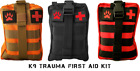 Tactical MOLLE First Aid Survival K9 Trauma Kit IFAK stop the bleed