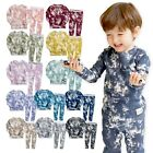 VAENAIT BABY 12M-12 Toddler Kids Boys Girls Cotton Sleepwear set 'PRISM' 12M-12Y