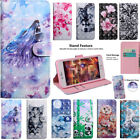 For Various Phone Model Magnetic Card Slot Wallet Flip Leather Case Stand Cover