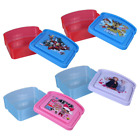 Zak Designs Character Plastic Sandwich Container for Kids