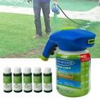 Liquid Hydro Mousse Household Seeding System Spray Lawn Grass Care Seed Shot Set