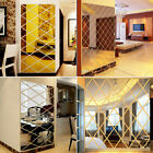 Home Mirror Wall Stickers Room 3d Full Body Acrylic Decor Self Adhesive
