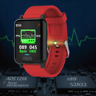 Smart Watch PPG ECG Blood Oxygen Pressure Heart Rate Body Temperature Monitor