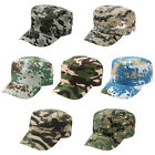 Mens Womens Camouflage Army Hat Camo Military Cadet Combat Fishing Baseball Cap~