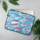 Lilly Pulitzer Pattern Laptop Case Sleeve - Sailboat Print Red Right Return