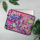 Lilly Pulitzer Pattern Laptop Case Sleeve - Gumbo Limbo Floral Print