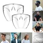 Clear Anti Droplet Saliva Facial Mask Outdoor Running Cycling Face Cover Shield