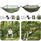Camping Hammock with Mosquito Net Hanging Bed Swing Chair Outdoor USA ARMG