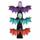 Adult Medieval Dragon Dinosaur Halloween Costume Wings Accessory Blue Red Purple