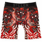 Sullen Men's 3 Eye Tiger Premium Boxers Brief Underwear Multi-Color Clothing ...