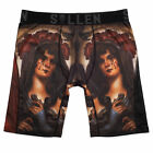 Sullen Men's Andres Blesa Premium Boxers Brief Underwear Black/Maroon Clothin...