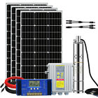 Solar Panel Deep Well Bore Water Pump Battery Complete System For Irrigation